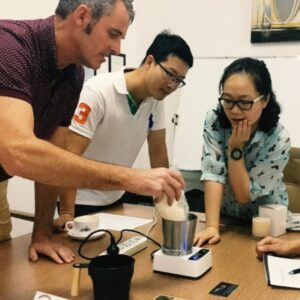 Testing prototypes in China